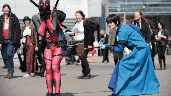 mashup, cosplay, Pyrkon, Deadpool