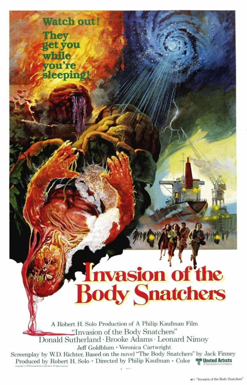 Invasion of the Body Snatchers, 1978, Poster