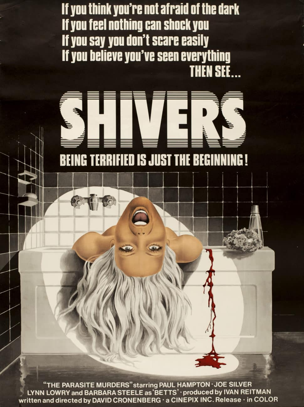 Shivers, Poster