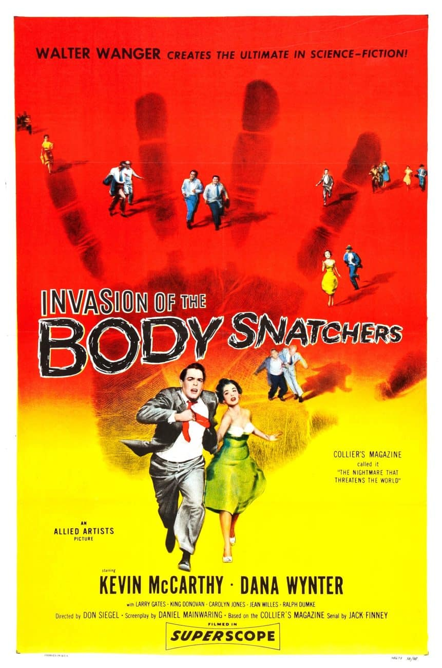 Invasion of the Body Snatchers, 1956, Poster