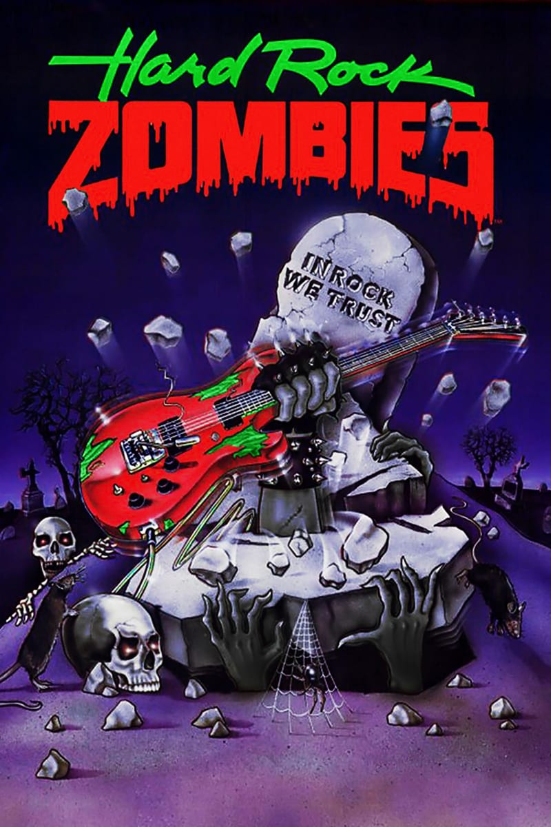 Hard Rock Zombies, Poster