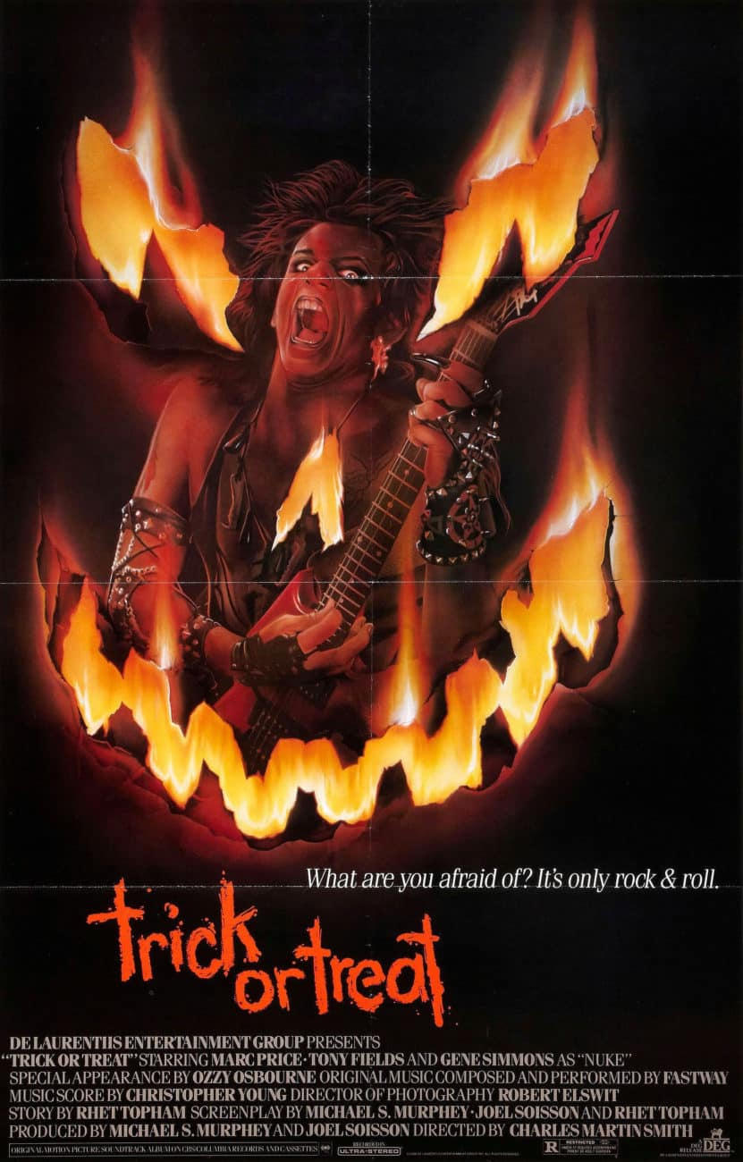 Trick or Treat, Poster